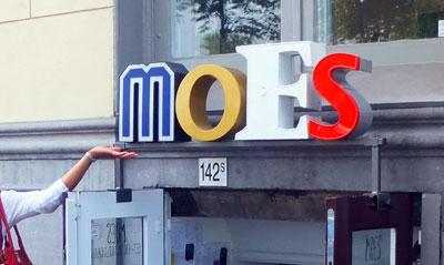 Eet- en drinklokaal MOES, Prins Hendrikkade 142 sous