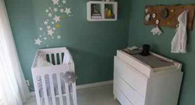 De reigers zijn al druk bezig met het opknappen van de babykamers