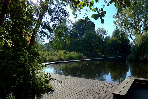 Dode man in Sloterpark door noodlottig ongeluk - De beweegbare vlonder nabij natuurspeeltuin De Natureluur