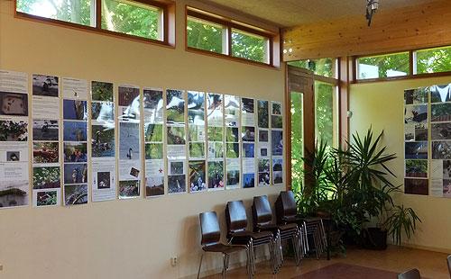 Expositie Gefladder in NME Centrum De Drijfsijs, van 4 september tot 19 oktober 2012 (President Allendelaan 4, Sloterpark)