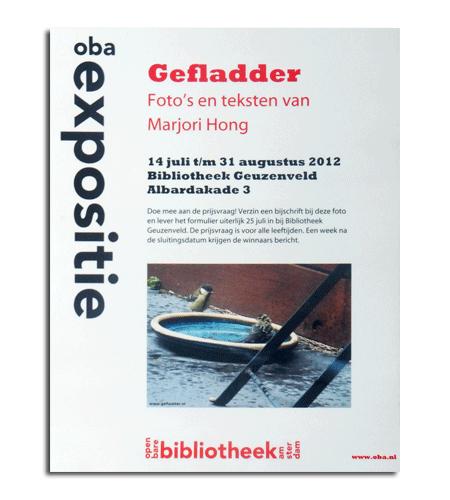 Gefladder in Openbare Bibliotheek Amsterdam Geuzenveld