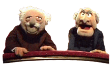 Mopperende Muppets, Statler and Waldorf