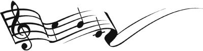 Muzieknoten: koolmees zingt het hoogste lied