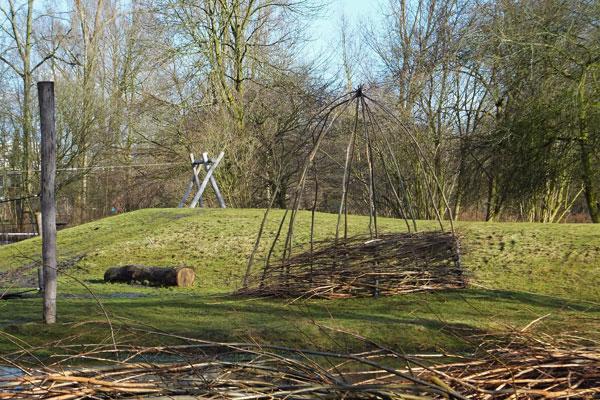 Er komen ook hutjes in natuurspeeltuin De Natureluur