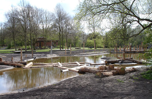 In wording: Natuurspeeltuin Sloterpark 'De Natureluur'