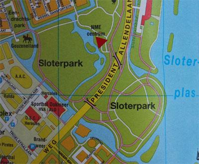 NME Centrum de Drijfsijs Sloterpark