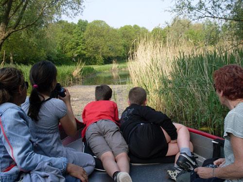Heerlijk varen door/langs het Ruige Riet (Sloterpark)