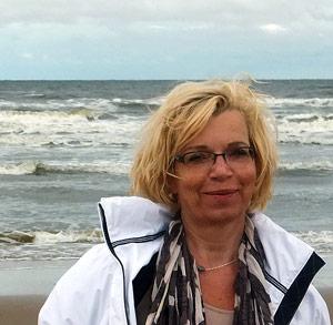 Op het strand van Zandvoort - Els de Jong