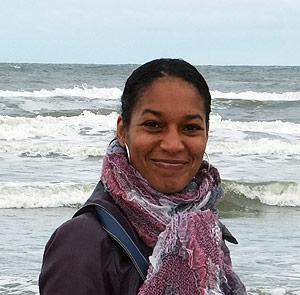 Op het strand van Zandvoort - Marjori Hong